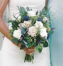 Powder blue wedding
