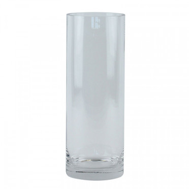20/25 cm clear glass cylinder vase