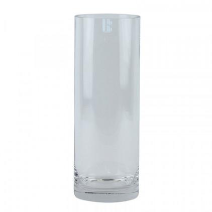 20/25 cm clear glass cylinder vase