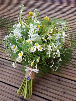Wedding bouquet summer