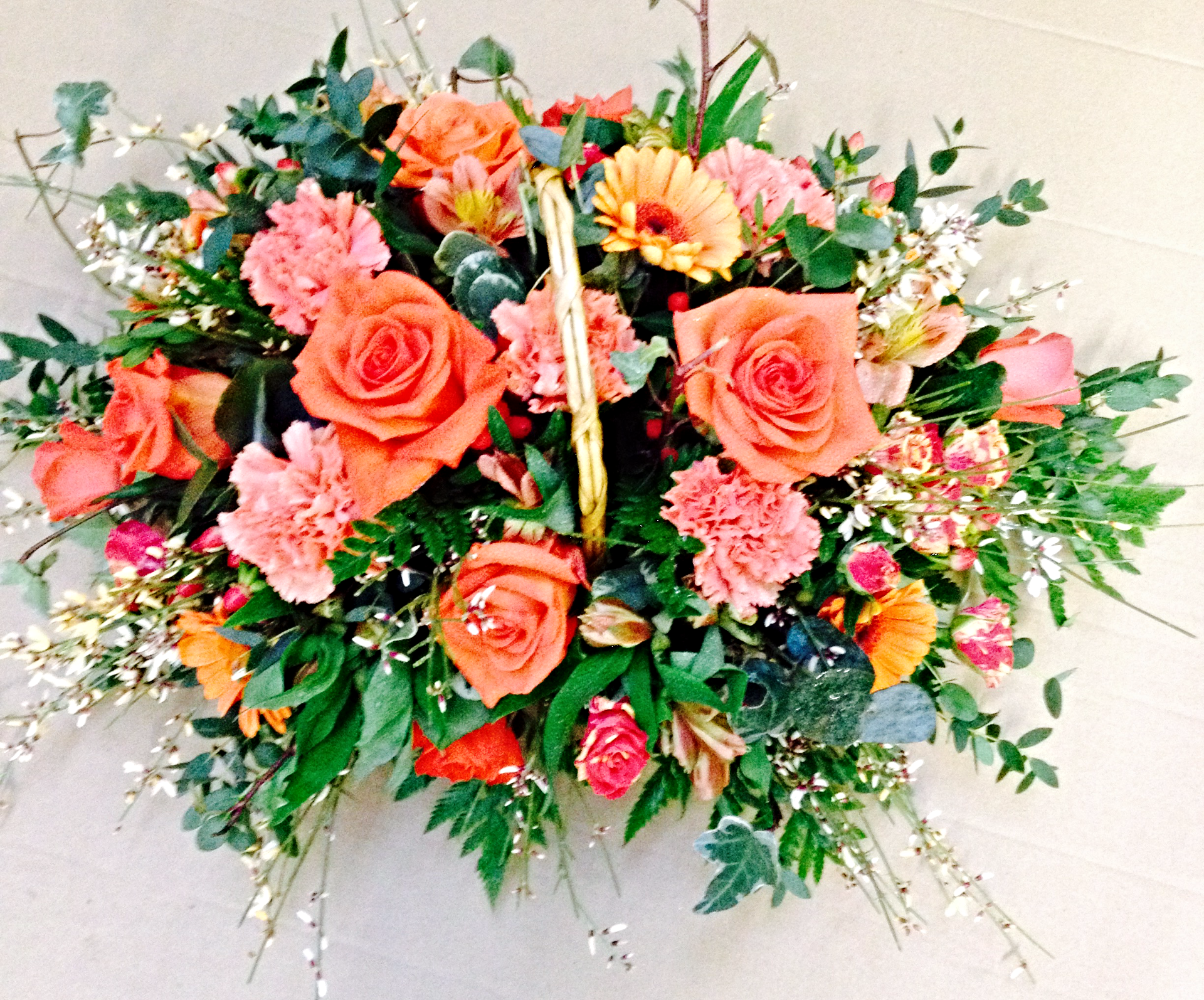 funeral traditional basket Autumn Sh