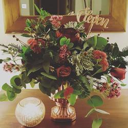 Rich urn flowers
