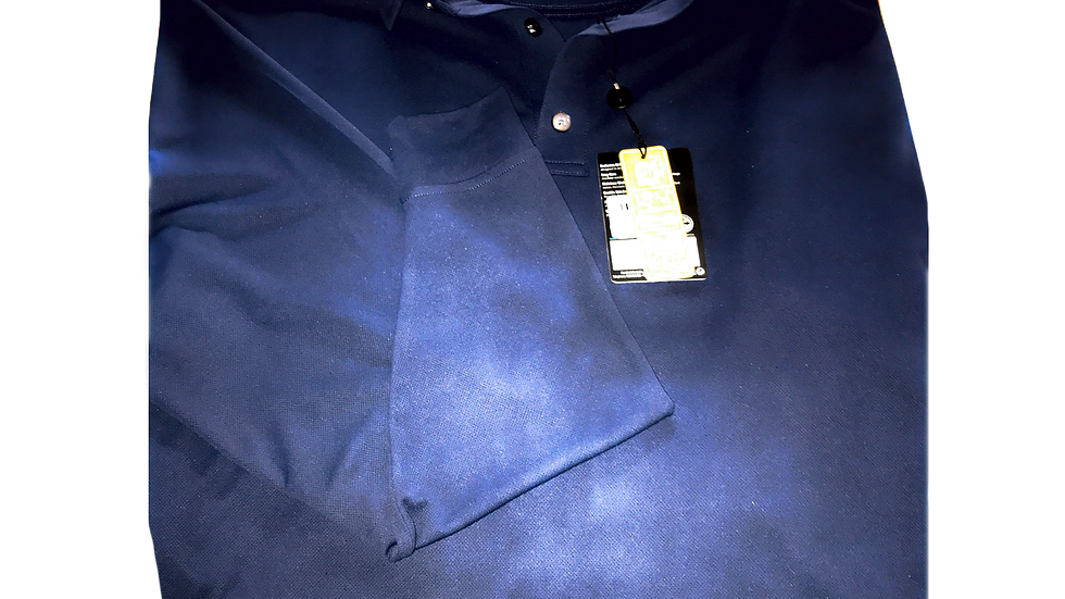 FJ Men's Sun Protect Navy Long Sleeve UV 50+