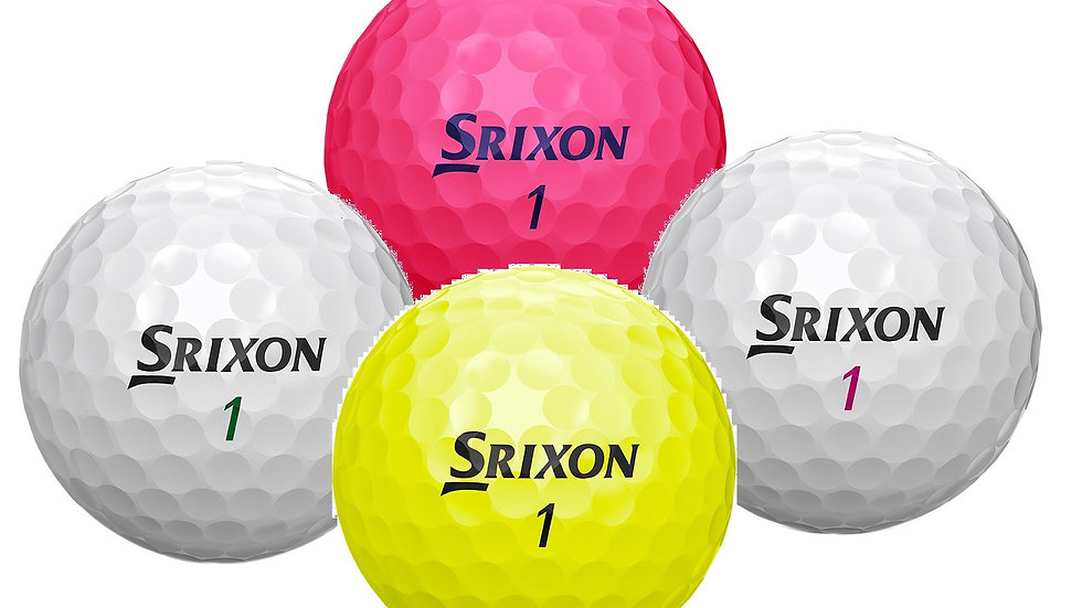 Srixon Soft Feel Coloured Balls (Loose)