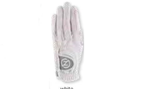 Zero Friction - Ladies' Right Hand Synthetic Glove White