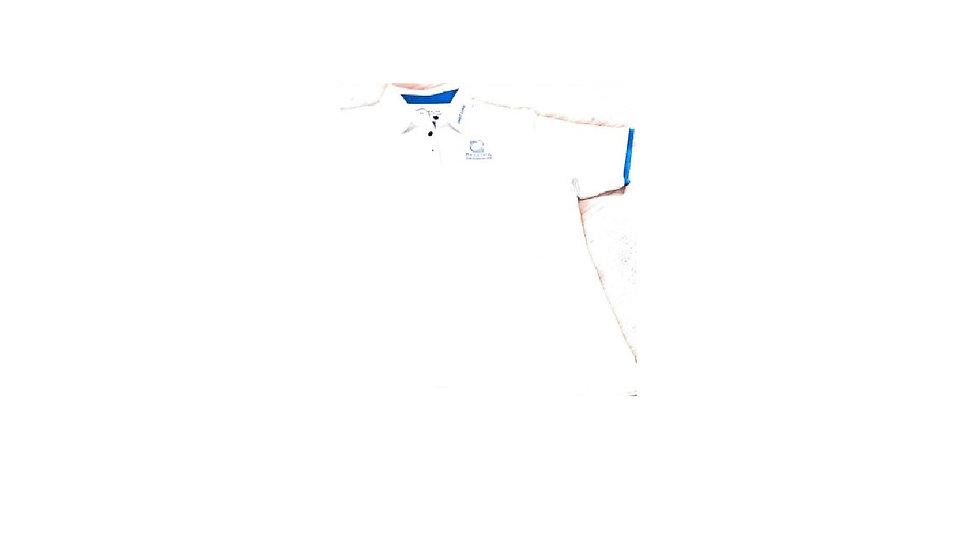 Crestlink Blue Trim Cuff - Ballina Logoed Polo
