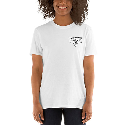 Short-Sleeve Unisex T-Shirt - Brovaries Logo - White
