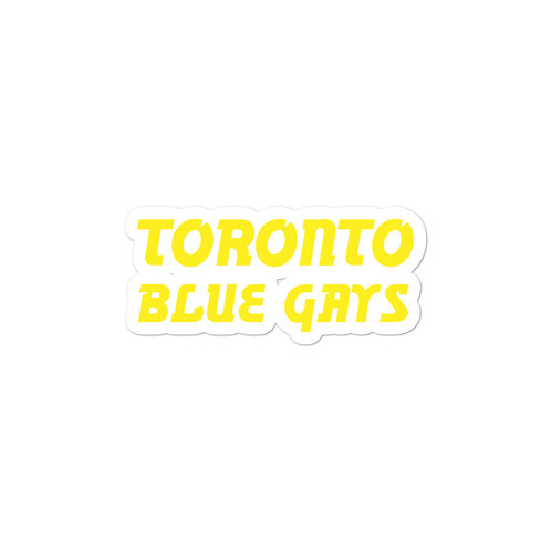 Toronto Blue Gays Sticker