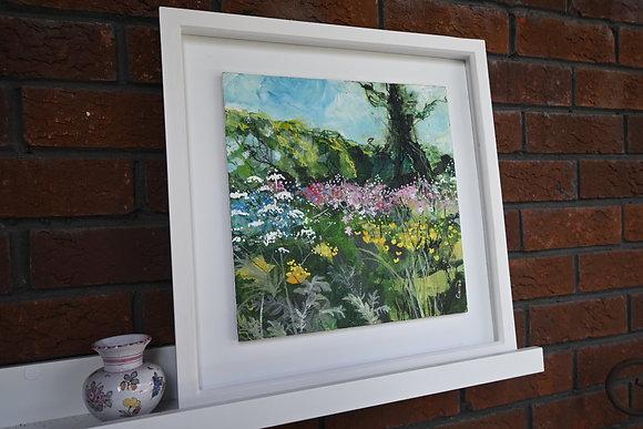 Wild meadow 1 - framed