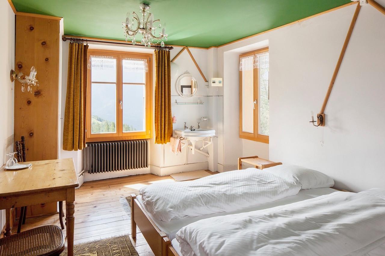 De chaleureuses chambres