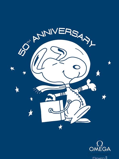 Omega Speedmaster - Snoopy 50th Anniversary