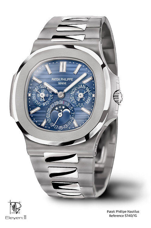 Artist Collection - A1 Patek Philippe Nautilus 5740/1g Collab