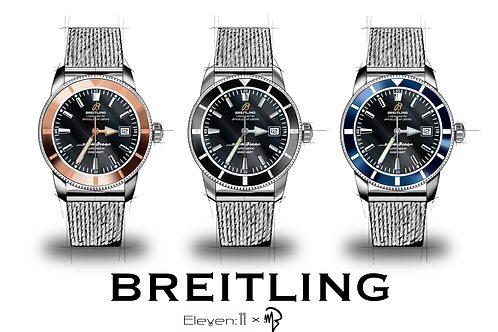 Artist Collection - Breitling SuperOcean Heritage II Collaboration