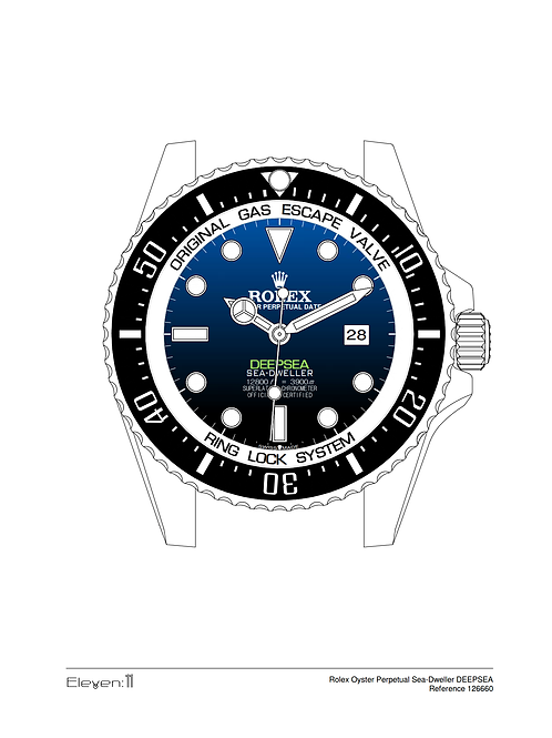 Rolex Sea-Dweller 126600 Deepsea