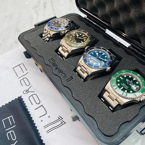 The Eleven:11 4-Watch Hard-Case