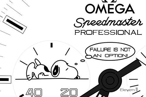Omega Snoopy Award - Failure Is Not An Option