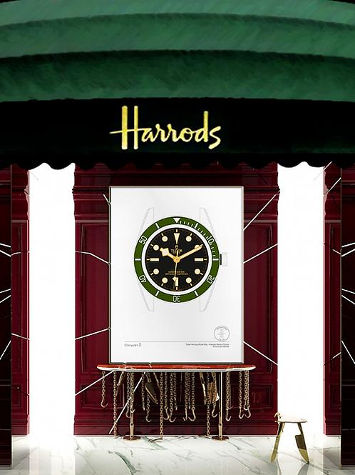 Tudor Heritage Black Bay Harrods - Special Edition