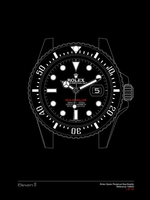 Rolex 50th Anniversary Sea-Dweller 126600