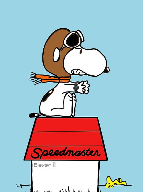 Omega Speedmaster - Snoopy & Woodstock