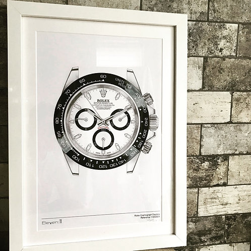 Original Framed Rolex Daytona 116500LN