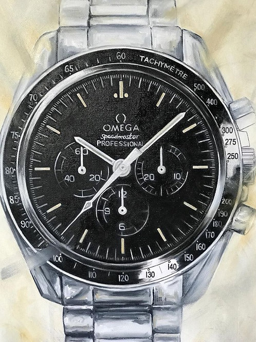 Limited Edition Omega Speedmaster Moonwatch - [Size A2]