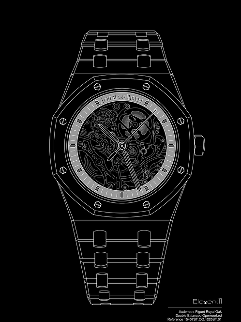 Audemars Piguet Royal Oak Skeleton 15407