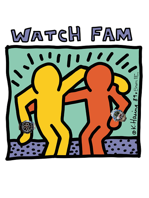 Artist Collection - Keith Haring x Watch Fam