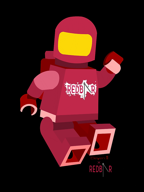 Limited Edition RedBar - Lego Spacemen Mk II
