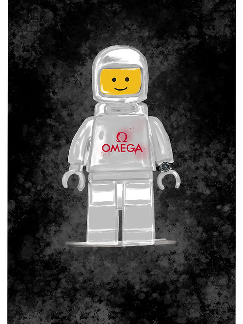 Artist Collection - Lego Spaceman Special Edition Omega