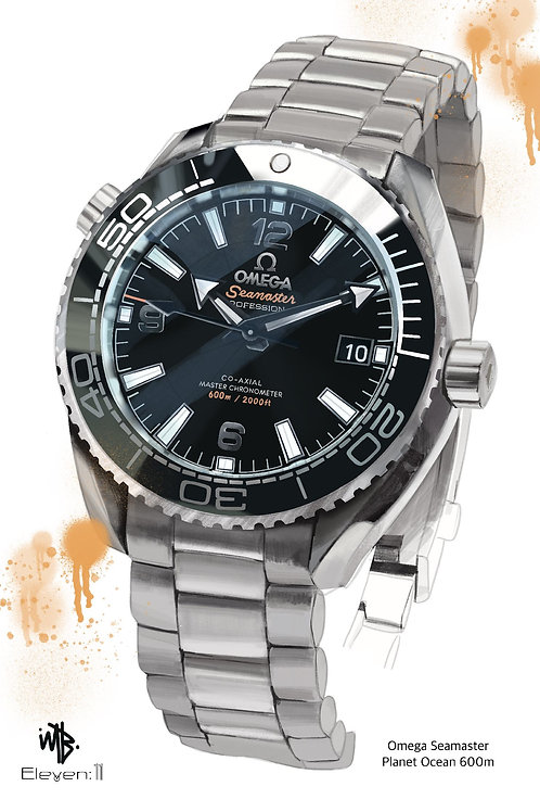 Artist Collection - Omega Seamaster 300m Collaboration