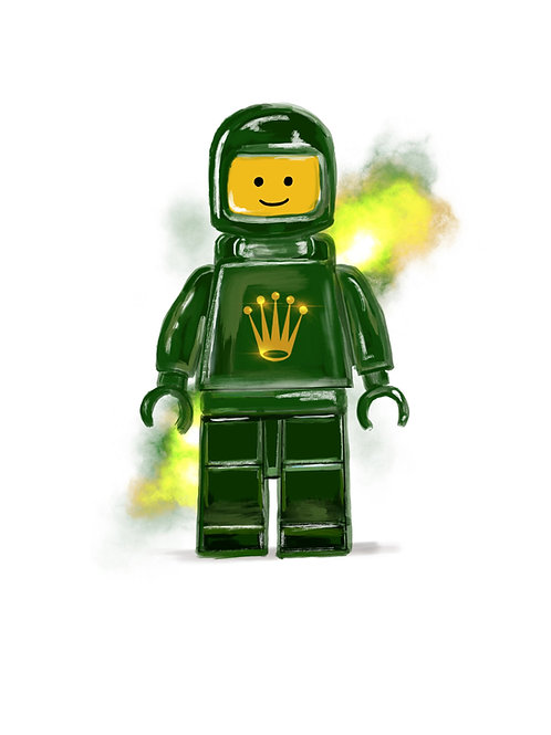 Artist Collection - Lego Spacemen