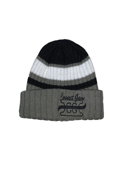 Black and White Connect Game Apparel Beanie