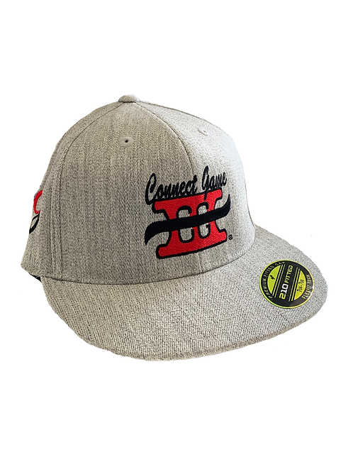 Grey Connect Game Apparel Hat