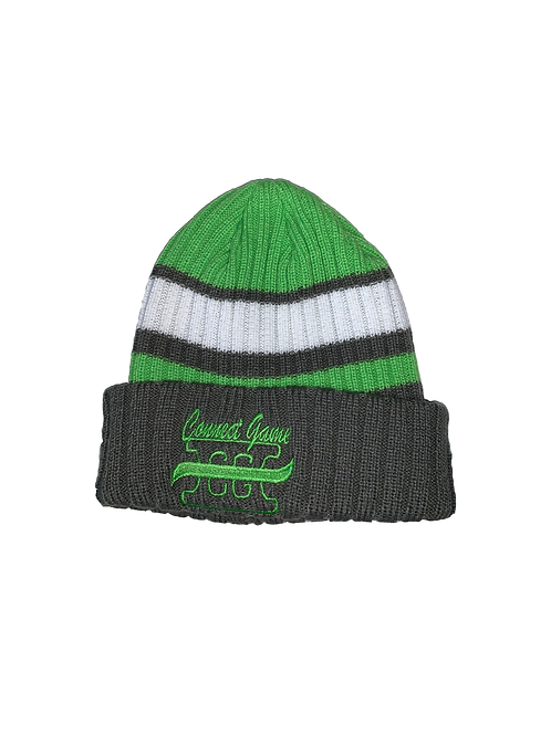 Green Connect Game Apparel Beanie