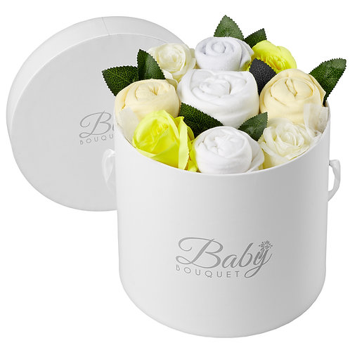 Preemie All White Bouquet