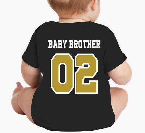 Brother Short sleeve onesie Jersey