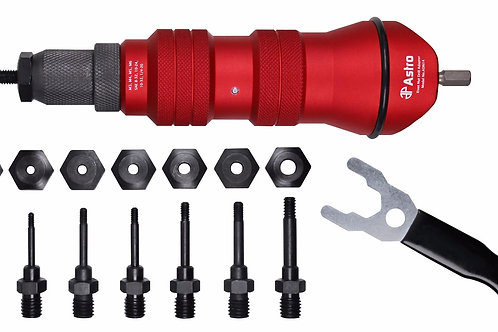 Rivet Nut Drill Adapter Kit  #PDQ-ADN14T