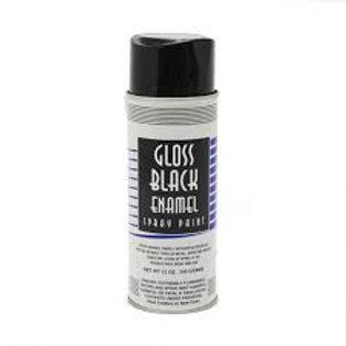 Black Enamel Paint 12 oz. aerosol