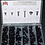 Thumbnail: Plastic Push Clips-116 pcs. #0019T