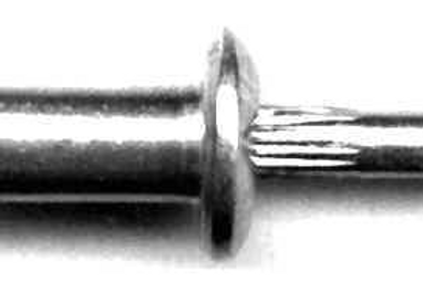 "1/4"" Glass Stop Rivet #2028T GM #9437938 (Starting at 50/box)"