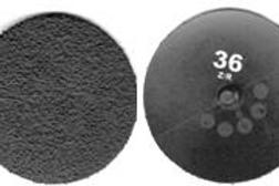 Zirconium Discs - Hard backing (Qty:25)