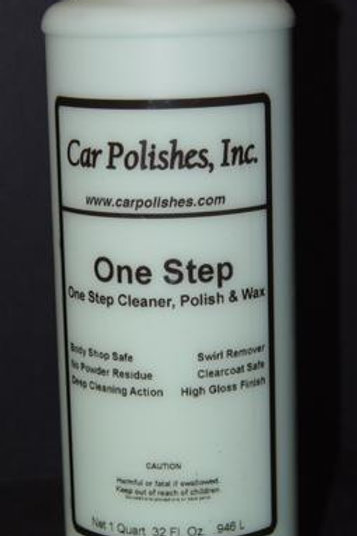 One Step Cleaner & Polish