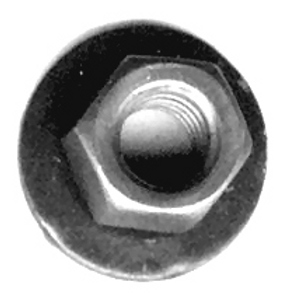 6mm Nut w/16mm Washer #2027T #11505329 (Starting at 50/box)