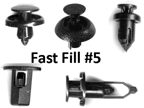 Fast Fill Pack #5-Toyota Clips Total pcs:100