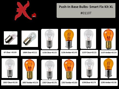 Push-In Base Bulb Smart Fix Kit-XL 100 pcs #0110T