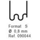 Nanoplastic Stapler (100/pk) 0.8mm S #090044