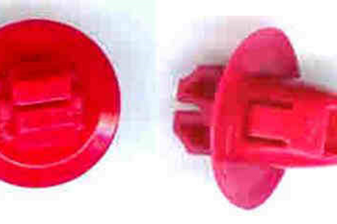 Red Nylon Moulding Clip #2102T Toyota #90904-67037 (Starting at 25/box)