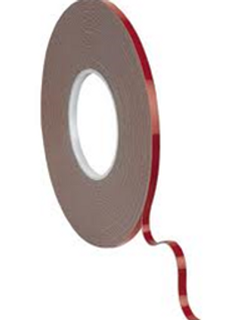 Red Liner Acrylic Foam Double Sided Tape