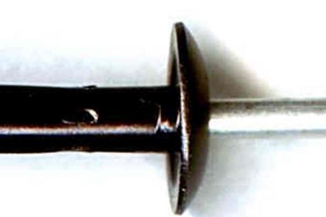 """1/4"""" Ford Split Open Rivet #2142T #N806860-S100 (Starting at 25/box)"""