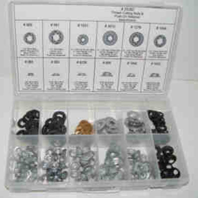 Thread Cutting Nut & Push On Retainer Kit-#2528T